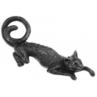 Cat Sith Hair Slide Barrette Jewelry Gem Shop  Sterling Silver Jewerly | Gemstone Jewelry | Unique Jewelry