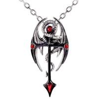 Dragonkreuz Dragon Cross Necklace Jewelry Gem Shop  Sterling Silver Jewerly | Gemstone Jewelry | Unique Jewelry