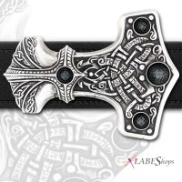 Thunder Hammer Pewter Thor Belt Buckle Jewelry Gem Shop  Sterling Silver Jewerly | Gemstone Jewelry | Unique Jewelry