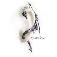 Dragons Lure Earring Wrap - Left Ear Jewelry Gem Shop  Sterling Silver Jewerly | Gemstone Jewelry | Unique Jewelry