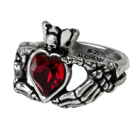Claddagh by Night Pewter Ring Jewelry Gem Shop  Sterling Silver Jewerly | Gemstone Jewelry | Unique Jewelry