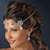 Kim Kardasian Inspired Bridal Headband