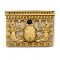 Egyptian Scarab Pectoral Brooch Jewelry Gem Shop  Sterling Silver Jewerly | Gemstone Jewelry | Unique Jewelry