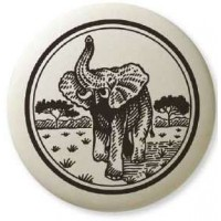 African Elephant Pathfinder Animal Totem Porcelain Necklace Jewelry Gem Shop  Sterling Silver Jewerly | Gemstone Jewelry | Unique Jewelry