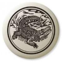 Alligator Pathfinder Animal Totem Porcelain Necklace Jewelry Gem Shop  Sterling Silver Jewerly | Gemstone Jewelry | Unique Jewelry