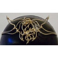 Dragon Bronze Draconian Wiccan Circlet Jewelry Gem Shop  Sterling Silver Jewerly | Gemstone Jewelry | Unique Jewelry