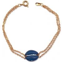 Blue Cowrie Shell Bracelet Jewelry Gem Shop  Sterling Silver Jewerly | Gemstone Jewelry | Unique Jewelry