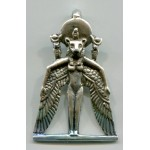 Winged Sekhmet Egyptian Goddess Pendant at Jewelry Gem Shop,  Sterling Silver Jewerly | Gemstone Jewelry | Unique Jewelry