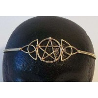 Pentacle Celtic Triquetra Bronze Circlet Jewelry Gem Shop  Sterling Silver Jewerly | Gemstone Jewelry | Unique Jewelry