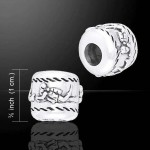 Scuba Diver Sterling Silver Story Bead