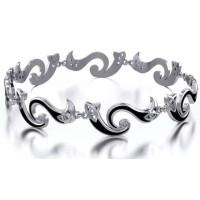 Celtic Knotwork Infinity Bracelet in Sterling Silver Jewelry Gem Shop  Sterling Silver Jewerly | Gemstone Jewelry | Unique Jewelry
