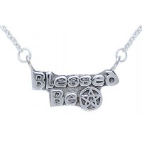 Blessed Be Pentacle Sterling Silver Necklace Jewelry Gem Shop  Sterling Silver Jewerly | Gemstone Jewelry | Unique Jewelry