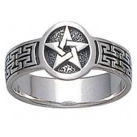 Pentacle Sterling Silver Ring Jewelry Gem Shop  Sterling Silver Jewerly | Gemstone Jewelry | Unique Jewelry