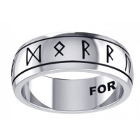 Odins Strength Runic Band Sterling Silver Fidget Spinner Ring Jewelry Gem Shop  Sterling Silver Jewerly | Gemstone Jewelry | Unique Jewelry