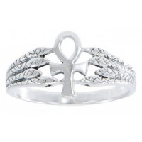 Egyptian Ankh Snake Silver Ring Jewelry Gem Shop  Sterling Silver Jewerly | Gemstone Jewelry | Unique Jewelry
