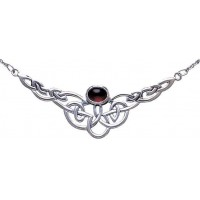 Veronica Celtic Knot Necklace with Gemstone Jewelry Gem Shop  Sterling Silver Jewerly | Gemstone Jewelry | Unique Jewelry