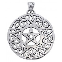 Knotwork Pentacle Pendant Jewelry Gem Shop  Sterling Silver Jewerly | Gemstone Jewelry | Unique Jewelry