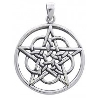 Woven Pentacle Pendant in Sterling Silver Jewelry Gem Shop  Sterling Silver Jewerly | Gemstone Jewelry | Unique Jewelry