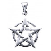 Pentacle Pendant in Sterling Silver Jewelry Gem Shop  Sterling Silver Jewerly | Gemstone Jewelry | Unique Jewelry