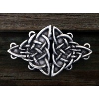 Celtic Triquetra Knot Cloak Clasp Jewelry Gem Shop  Sterling Silver Jewerly | Gemstone Jewelry | Unique Jewelry