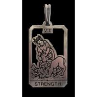 Strength Small Tarot Pendant