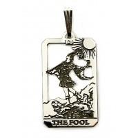 The Fool Small Tarot Pendant