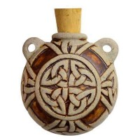 Celtic Knot Clay Oil Bottle Necklace Jewelry Gem Shop  Sterling Silver Jewerly | Gemstone Jewelry | Unique Jewelry