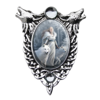 Winter Guardian Enchanted Cameo by Anne Stokes