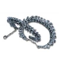 Vertebrae Spinal Column Pewter Bracelet Jewelry Gem Shop  Sterling Silver Jewerly | Gemstone Jewelry | Unique Jewelry