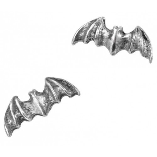 Bat Stud Pewter Earrings at Jewelry Gem Shop,  Sterling Silver Jewerly | Gemstone Jewelry | Unique Jewelry