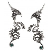 Bestia Regalis Dragon Earring Pair Jewelry Gem Shop  Sterling Silver Jewerly | Gemstone Jewelry | Unique Jewelry