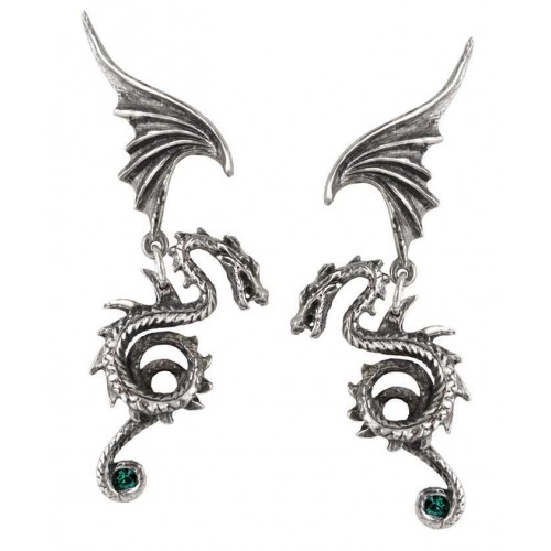 Bestia Regalis Dragon Earring Pair at Jewelry Gem Shop,  Sterling Silver Jewerly | Gemstone Jewelry | Unique Jewelry