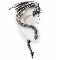 Crystal Dragon Ear Wrap