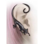 Black Cat Sith Earwrap Earring at Jewelry Gem Shop,  Sterling Silver Jewerly | Gemstone Jewelry | Unique Jewelry