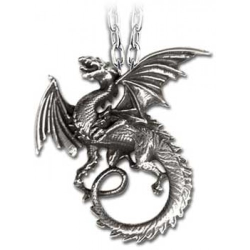 The Whitby Wyrm Pewter Dragon Necklace at Jewelry Gem Shop,  Sterling Silver Jewerly | Gemstone Jewelry | Unique Jewelry