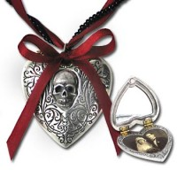 The Reliquary Heart Gothic Locket Jewelry Gem Shop  Sterling Silver Jewerly | Gemstone Jewelry | Unique Jewelry
