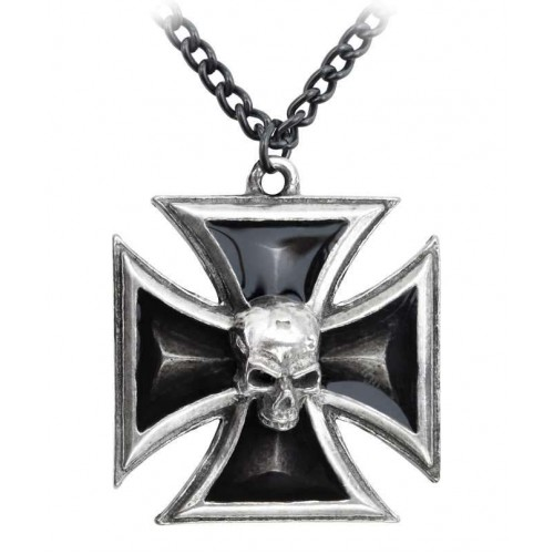Black Knights Cross Pewter Necklace at Jewelry Gem Shop,  Sterling Silver Jewerly | Gemstone Jewelry | Unique Jewelry