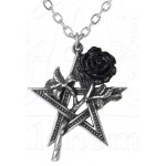 Ruah Vered Pentacle Rose Gothic Necklace at Jewelry Gem Shop,  Sterling Silver Jewerly | Gemstone Jewelry | Unique Jewelry