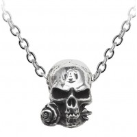 Alchemist Amulet Gothic Pewter Necklace