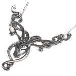 Kraken Pewter Octopus Gothic Necklace at Jewelry Gem Shop,  Sterling Silver Jewerly   Gemstone Jewelry   Unique Jewelry
