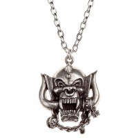 Motorhead War-Pig Pewter Necklace Jewelry Gem Shop  Sterling Silver Jewerly | Gemstone Jewelry | Unique Jewelry