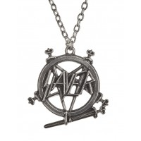 Slayer Pentagram Logo Necklace Jewelry Gem Shop  Sterling Silver Jewerly | Gemstone Jewelry | Unique Jewelry