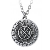 Bullet for My Valentine Disc Necklace