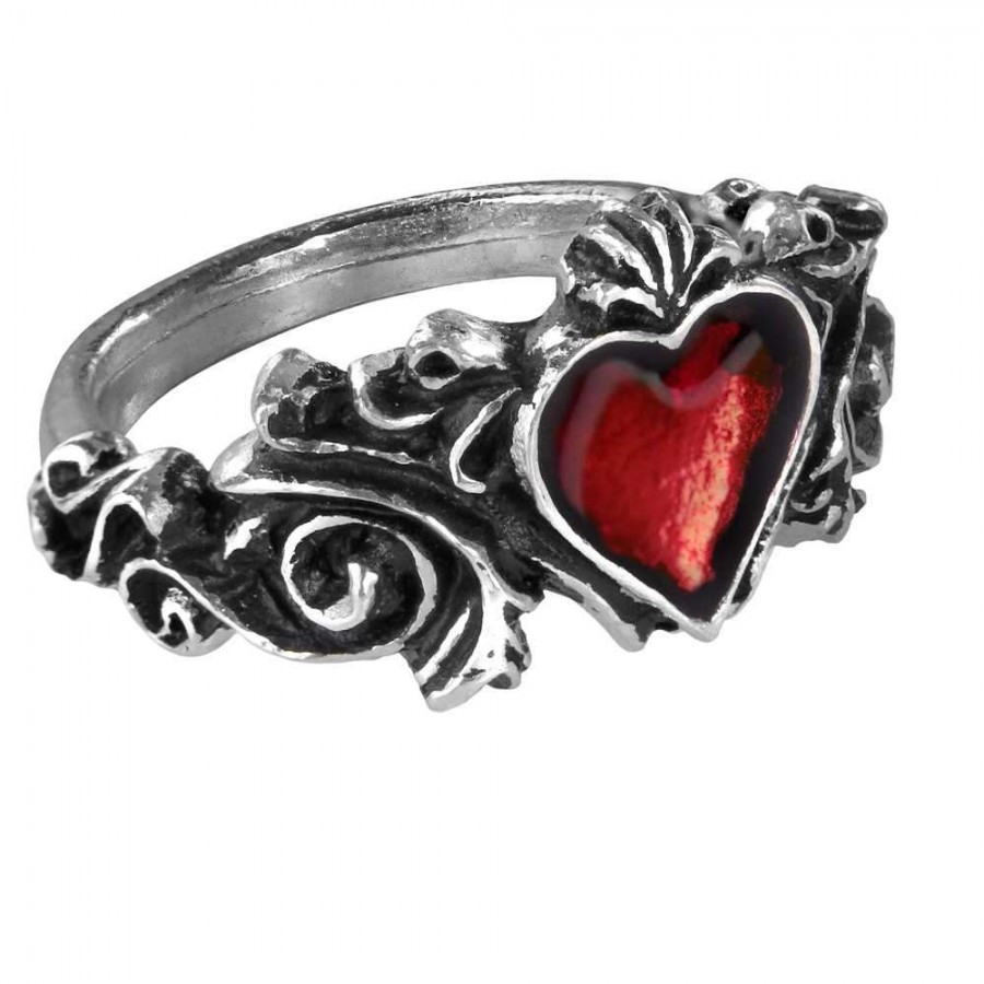 ring mystic rings pewter jewerly finger pentagram supplies roseus witchcraft convergence jewelry enameled pagan wiccan toe at