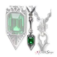 Sucre Vert Absinthe Spoon Pewter Necklace