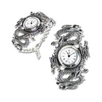 Imperial Dragon Pewter Gothic Wrist Watch Jewelry Gem Shop  Sterling Silver Jewerly | Gemstone Jewelry | Unique Jewelry