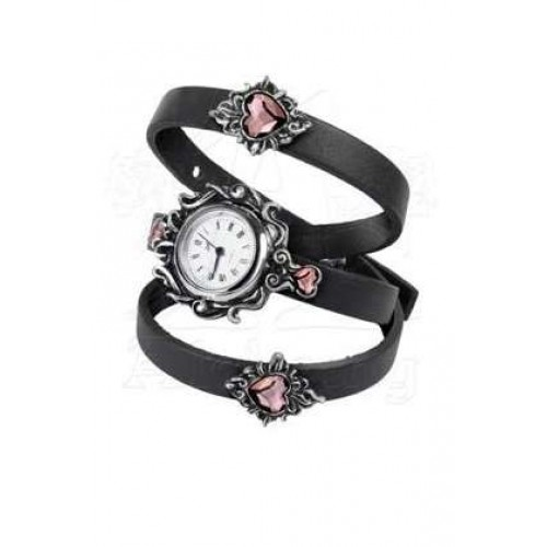 Heartfelt Leather and Pewter Gothic Wrist Wrap Watch at Jewelry Gem Shop,  Sterling Silver Jewerly | Gemstone Jewelry | Unique Jewelry