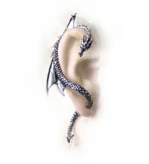 Dragons Lure Earring Wrap - Right Ear at Jewelry Gem Shop,  Sterling Silver Jewerly | Gemstone Jewelry | Unique Jewelry