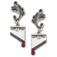 Marie Antoinette Blade Earring Pair Jewelry Gem Shop  Sterling Silver Jewerly | Gemstone Jewelry | Unique Jewelry