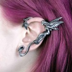 Whispering Fairy Pewter Ear Wrap at Jewelry Gem Shop,  Sterling Silver Jewerly | Gemstone Jewelry | Unique Jewelry